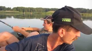 Рыбалка на водохранилище Красный Оскол