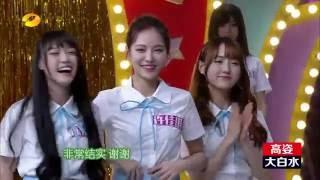 【SNH48】快樂大本營 20160702 許佳琪 CUT 之 大力士琪琪