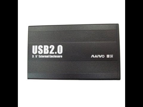 """Зовнішня кишеня Maiwo для HDD 3.5"""" SATA USB 2.0 Black (K3502-U2S)"""