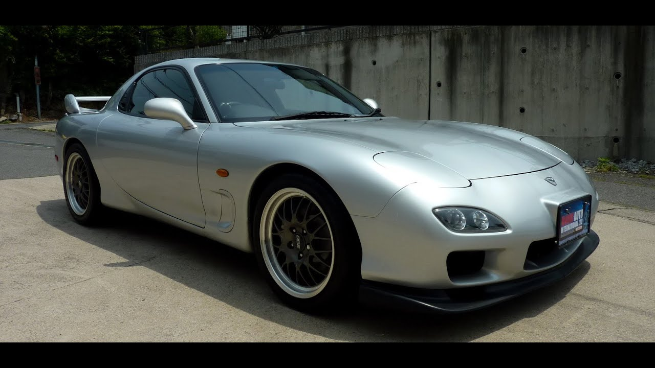 walk around - 1997 mazda rx7 13b twin turbo type rs - japanese car