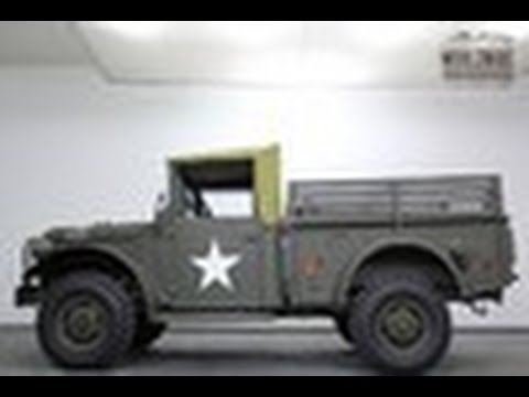 Dodge M37 Power Wagon For Sale
