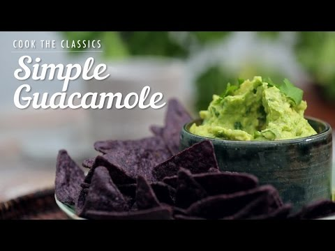 How to Make Simple Guacamole | Cook the Classics | MyRecipes