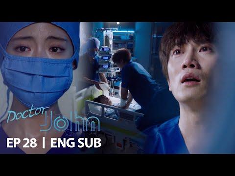 "Ji Sung ""Please live, Gi Seok"" [Doctor John Ep 28]"