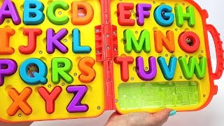 Help Kids Learn the Alphabet with Elmo's on the Go Letters! Learn ABC's Sounds of the Alphabet Video