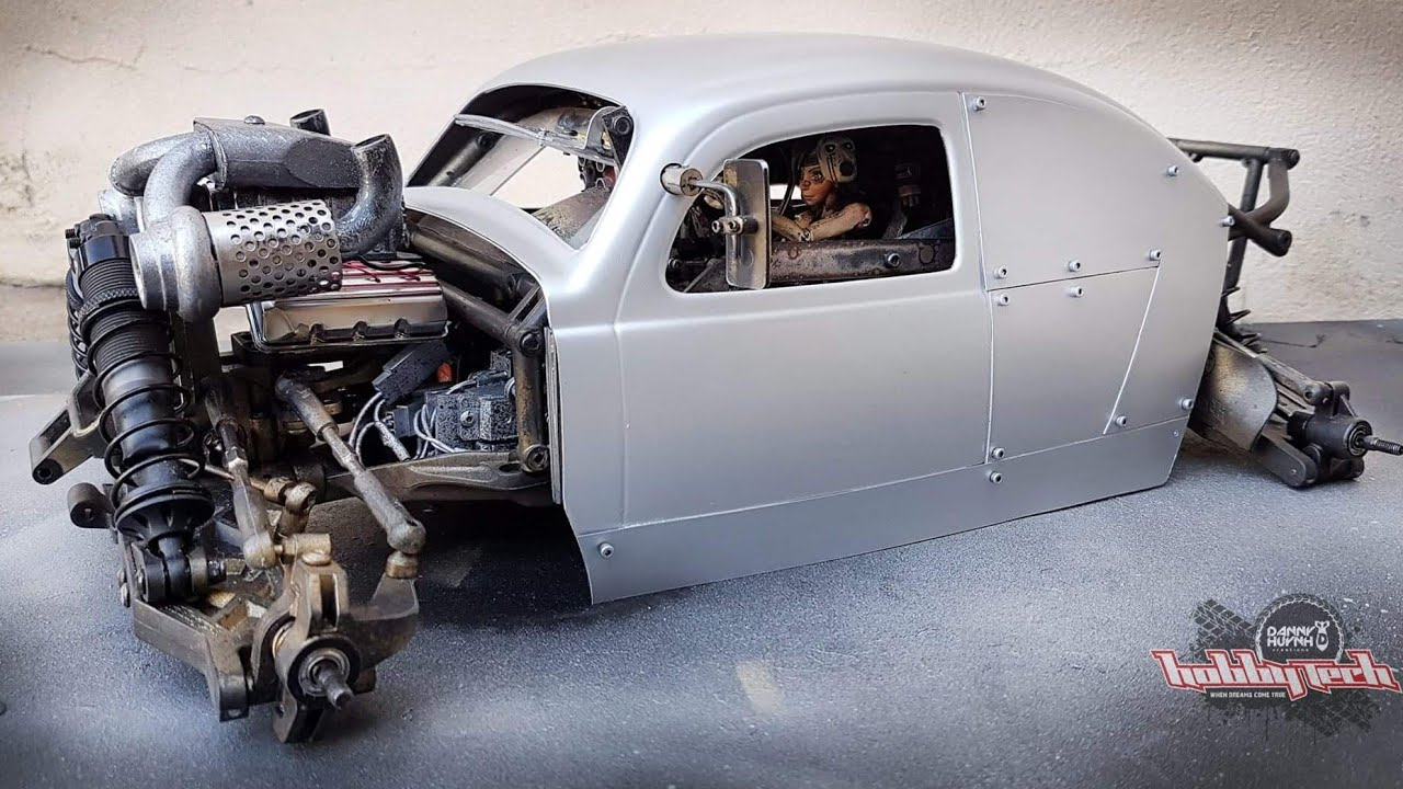 The VW Beetle/Heavy Bug Run. RC Animatronics by Danny Huynh Creations.
