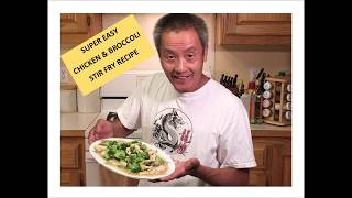 SUPER EASY CHICKEN &amp BROCCOLI STIR FRY RECIPE- Lockdown Cooking Series Video # 22