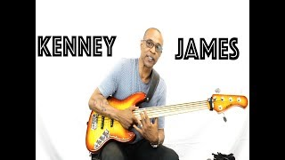 KENNEY JAMES : Allen Eden DISCIPLE 5 BASS