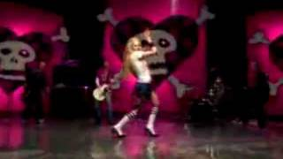 Hey Ya! - Avril dancing