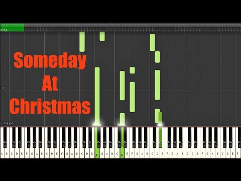 Someday At Christmas- Piano Tutorial w/SHEET MUSIC (inspired by Andra Day and Stevie Wonder)