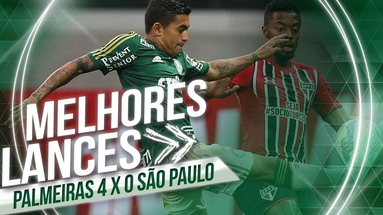 Melhores momentos - Palmeiras 4 x 0 São Paulo ...