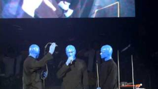 Blue Man Group.. Talking!? - O2 Arena