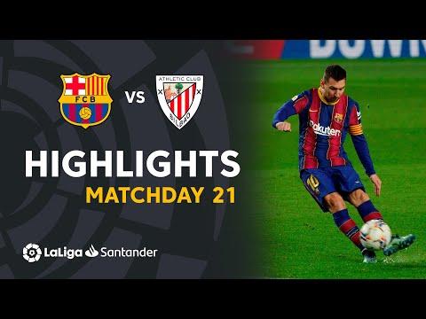 Highlights FC Barcelona vs Athletic Club (2-1)