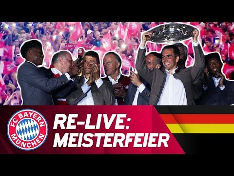 Re-Live | FC Bayern Celebrations 2017 at the Marienplatz