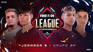 ¡Jornada 9 de la Free Fire League 2021! 🔥 | Grupo B - Apertura