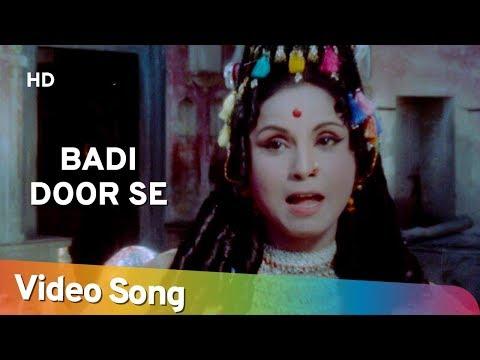 Badi Door Se (HD) | Kisan Aur Bhagwan (1974) | Jayshree Gadkar | Asha Bhosle Hit Songs