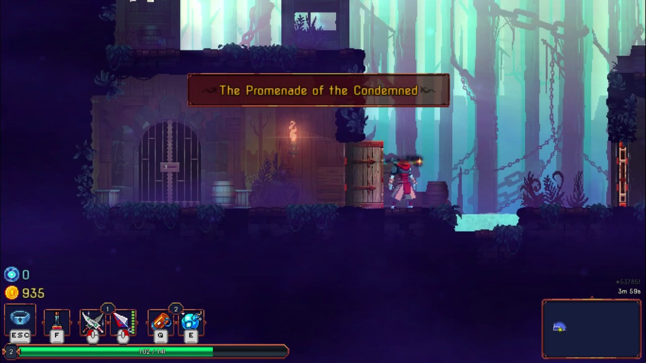 Dead cells area 2 the promenade of the condemned secret dead cells area 2 the promenade of the condemned secret blueprint assasins blade malvernweather Gallery