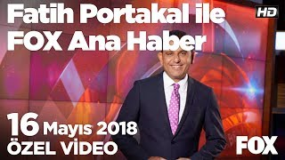 Gaziantep'de ambulans skandalı... 16 Mayıs 2018 Fatih Portakal ile FOX Ana Haber