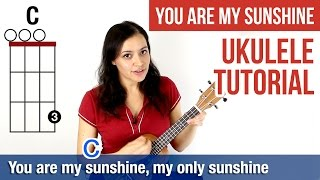 How to Play Ukulele | You Are My Sunshine (Chords)