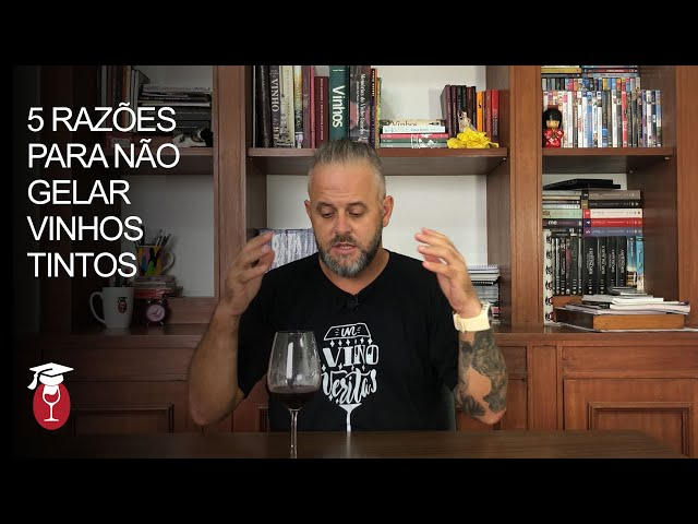5 razões para NÃO gelar vinhos tintos. [+18]