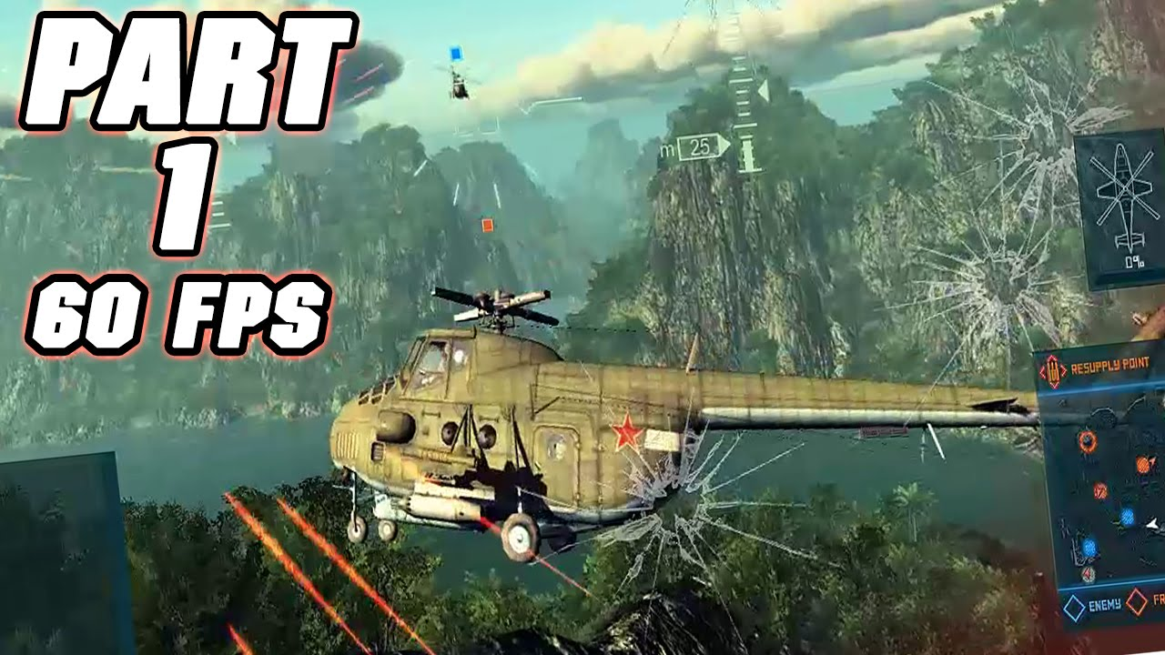 Heliborne Gameplay Part 1 New Helicopter Combat Game