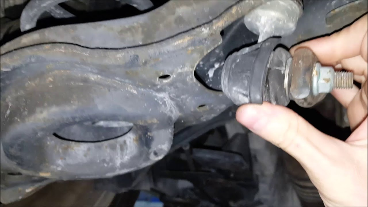Mazda 3 Rear Sway Bar Link Noise