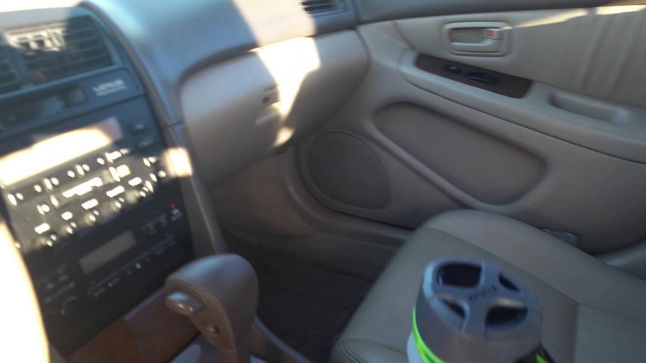 1999 Lexus Es300 76 000 Original Miles Interior