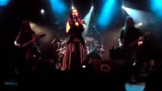 Sirenia live in Madrid (Spain) - Sister Nightfall