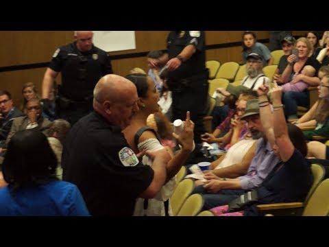 CHAOS at Charlottesville City Council Meeting, Episode 1: Jason Kessler 060517