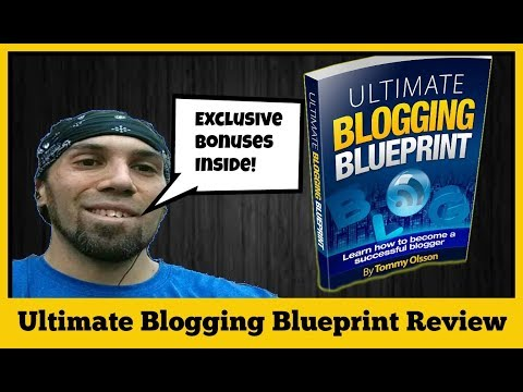 ♠️Ultimate Blogging Blueprint Review | How To Start A Blog Easily And Make Money♠️