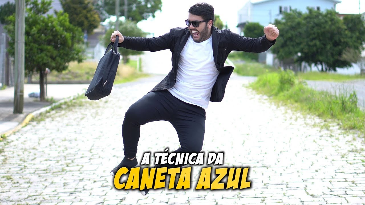 FELIPE PIRES - A TÉCNICA DA CANETA AZUL