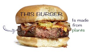 The Burger That Is Made From Plants And Tastes Just Like A Real Meat Burger
