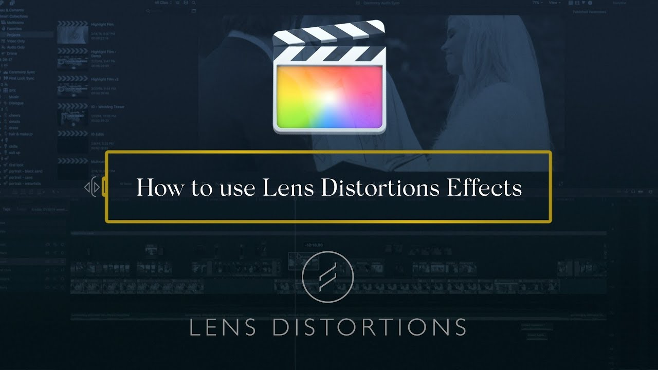 How to Create Your Own Sound Design using Lens Distortions SFX in FCPX