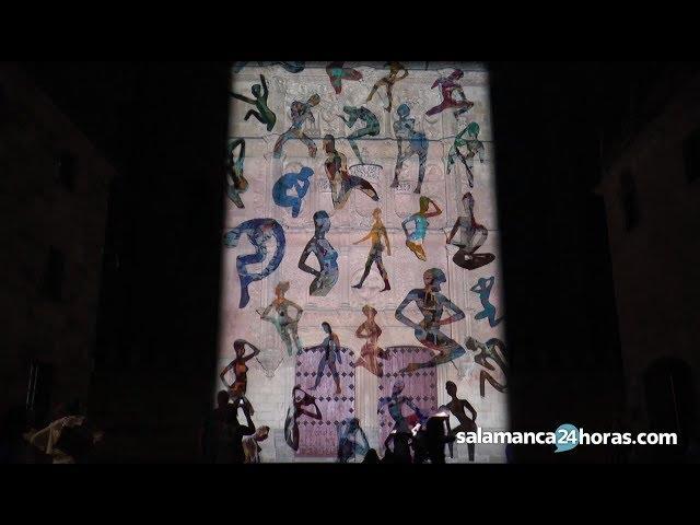 Ensayo del Festival de Luz y Vanguardias 2017 en Salamanca