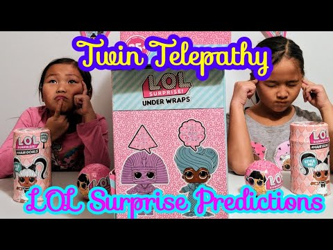 Twin Telepathy Toy Unboxing Challenge Lol Surprise