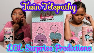 Twin Telepathy Toy Unboxing Challenge | LOL Surprise Series Unboxing