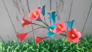 Wow Ini Dia Cara Mudah Membuat Bunga dari Kertas