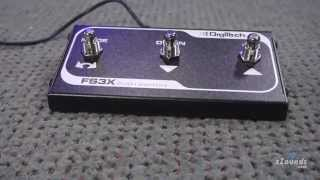 zZounds.com: DigiTech FS3X Expander Footswitch