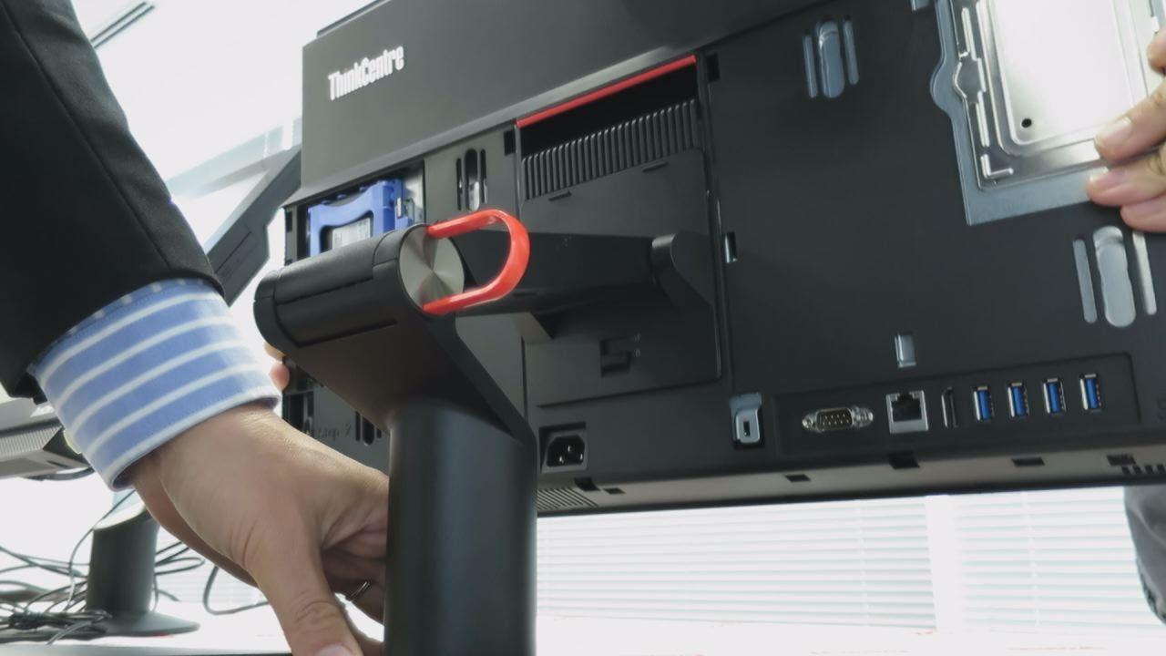 【速報】thinkcentre M900z All In One Aio の外観チェック シンクセンターm900z