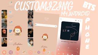 customizing my android phone | BTS inspired | custom widgets | live wallpaper | screenshot 3