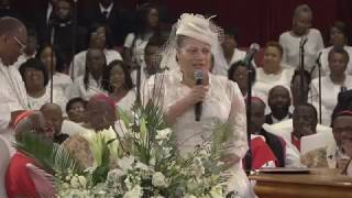 Lady Paula Brown Tribute National Home Going Archbishop Roy E Brown...