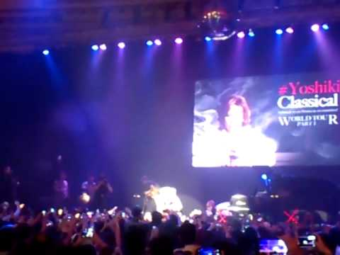 Yoshiki Classical World Tour Live in Bangkok 10-06-14 : End credit