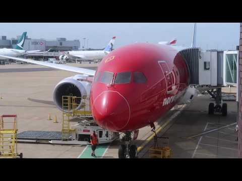 The decline in Norwegian Air's service. London to Rio de Janeiro, Premium Economy, B787-9