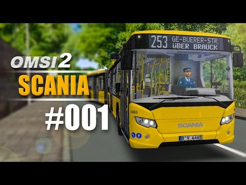 OMSI 2 Projekt Gladbeck 2016 SCANIA CITYWIDE GN14 #001 - Inspektion des Gelenkbusses |