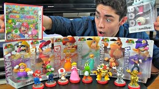 One of Alex CND's most viewed videos: Unboxing ALL 7 New Super Mario Amiibo & Mario Party Star Rush!