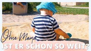 ALLEIN OHNE MAMA   Ist er schon soweit?   Weekly Vlog #11