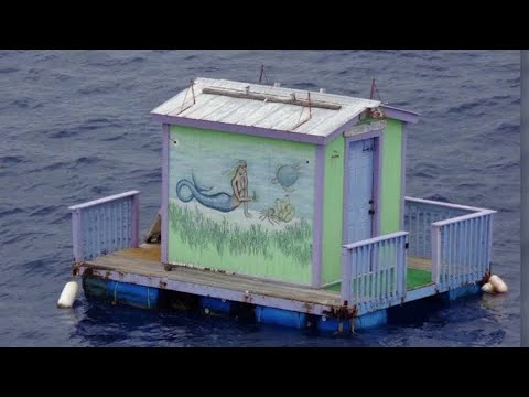 Mermaid Found In Gulf Of Mexico - On A Floating House