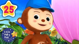 Learning Songs for Kids | Peekaboo Song | Children's Nursery Rhymes | Little Baby Bum