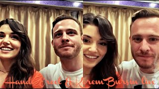 Hande Ercel & Kerem Bursin live part 2 English subtitles