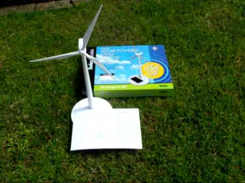 STY0001 solar powered wind turbine educational toy