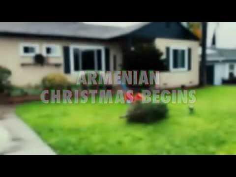 Когда Американское Рождество заканчивается,начинается Армянское Рождество